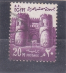 Stamps : Africa : Egypt :  FORTALEZA