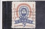 sello : America : Canadá : 50 ANIVERSARIO ASOCIACION