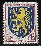 Sellos del Mundo : Europa : Francia : Escudo de Armas - Nevers