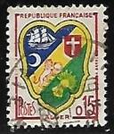 Sellos del Mundo : Europa : Francia : Escudo de Armas - Alger