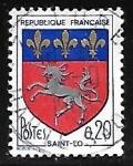 Sellos del Mundo : Europa : Francia : Escudo de Armas - Saint-Lô