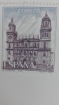 Stamps Spain -  Catedral