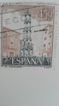 Stamps Spain -  Folklore