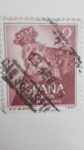 Sellos de Europa - España -  Virgen