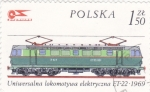Stamps Poland -  LOCOMOTORA  ELECTRICA
