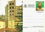 Stamps : Europe : Spain :  Tarjeta Entero Postal Edifil T140 Torre Carlomagno Gerona 35 NUEVO
