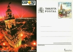 Stamps : Europe : Spain :  Tarjeta Entero Postal Edifil T154 Expo
