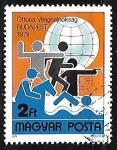 Sellos de Europa - Hungría -  Campeonato mundial de Pentatlon