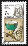 Stamps Hungary -  George Frideric Handel