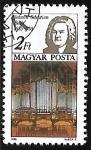 Sellos del Mundo : Europa : Hungría : Johann Sebastian Bach