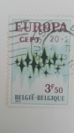 Stamps Belgium -  Europa