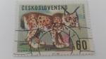 Sellos de Europa - Checoslovaquia -  Lynx