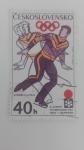 sellos de Europa - Checoslovaquia -  Sapporo
