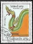 Sellos de Asia - Laos -  Dragon