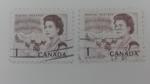 Sellos de America - Canadá -  Elisabeth II