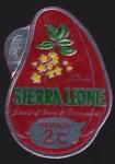 Sellos del Mundo : Africa : Sierra_Leona : COL-LA SEMILLA DE LA COLA
