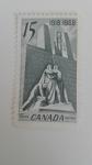 Sellos de America - Canadá -  Monumento