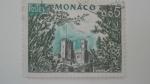 Sellos de Europa - Mónaco -  Castillo