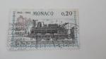 Sellos del Mundo : Europa : Mónaco : Tren