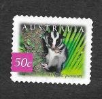 Sellos de Oceania - Australia -  Zarigüeya