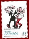 Stamps : Europe : Spain :  Edifil 3531 Mortadelo y Filemón 35 NUEVO