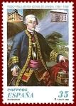 Stamps : Europe : Spain :  Edifil 3537 Conde de Aranda 35 NUEVO