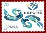 Stamps : Europe : Spain :  Edifil 3554 Exposición Lisboa Expo