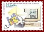 Stamps : Europe : Spain :  Edifil 3555 Protección de datos 70 NUEVO