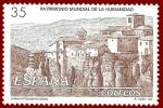 Stamps Spain -  Edifil 3558 Casco antiguo de Cuenca 35 NUEVO