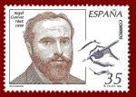 Sellos del Mundo : Europa : España : Edifil 3586 Ángel Ganivet 35 NUEVO