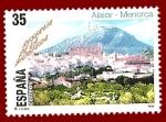Stamps Spain -  Edifil 3604 Alaior y monte Toro Menorca 35 NUEVO