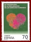 Sellos del Mundo : Europa : España : Edifil 35 50 aniversario Derechos Humanos 70 NUEVO
