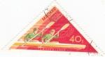 sellos de Europa - Hungría -  COMPETICIÓN DE REMO EN TAMPERE