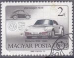Stamps : Europe : Hungary :  VOLKSWAGEN-PORSCHE