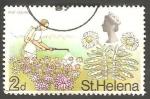 Sellos del Mundo : Europa : Reino_Unido : St. Helena - 198 - Elizabeth II, lucha anti plaga