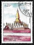Sellos del Mundo : Asia : Laos : Templo de That Luang