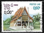 Stamps Laos -  Templo Vat Inpeng
