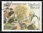 Sellos de Asia - Laos -  Año Nuevo