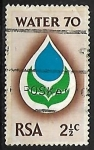 Sellos del Mundo : Africa : Sudáfrica :  Agua | Protección del Medio Ambiente