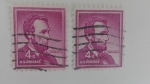 Stamps America - United States -  Abraham Lincoln