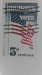 Stamps America - United States -  Register Vote