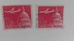 Stamps America - United States -  Avion