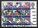 Stamps : Europe : United_Kingdom :  Elecciones para la Asamblea Europea