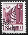 Stamps : Europe : Romania :  Edificio Postal - Bucarest