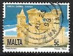 Sellos del Mundo : Europa : Malta : Iglesia St. Birkirkara