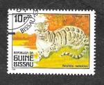 Sellos del Mundo : Africa : Guinea_Bissau : Pantera