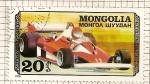 Sellos de Asia - Mongolia -  Automoviles competicion. Ferrari.