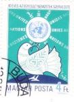 de Europa - Hungría -  40 ANIVERSARIO NACIONES UNIDAS