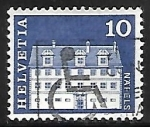 Sellos de Europa - Suiza -  Freuler-Palace, Näfels