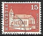 Sellos del Mundo : Europa : Suiza : Iglesia St. Mauritius
